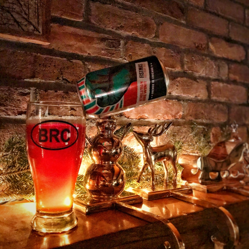 The BRC 12 Beers of Christmas 2017 Beer 8: Revolution Fistmas