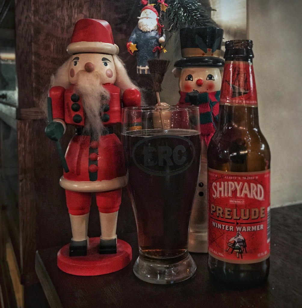 The BRC 12 Beers of Christmas 2018 Beer 1: Shipyard Prelude Winter Warmer