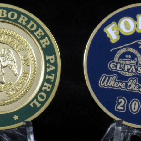 FORBPO Challenge Coin 2015 - Coins