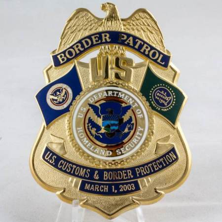 USBP MERGER BADGE - Misc Gifts
