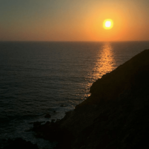 Pirates' Cove Hike Sunset
