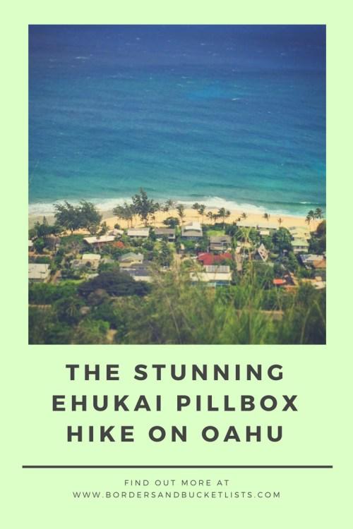 The Stunning Ehukai Pillbox Hike on Oahu #hawaii #oahu #hawaiihike #hike #ehukaipillbox