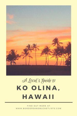 A Local's Guide to Ko Olina, Hawaii #hawaii #oahu #koolina #hawaiibeach