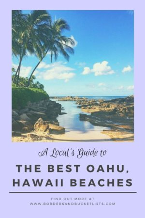 A Local's Guide to the Best Oahu, Hawaii Beaches #hawaii #oahu #beach #hawaiibeach #oahubeach