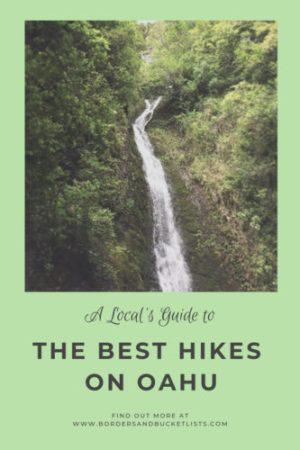 Local's Guide to the Best Hikes on Oahu #oahu #hawaii #hikes #hawaiihikeks #oahuhikes