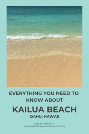 Everything to Know about Kailua Beach, Oahu, Hawaii #oahu #hawaii #kailua #kailuabeach #beach