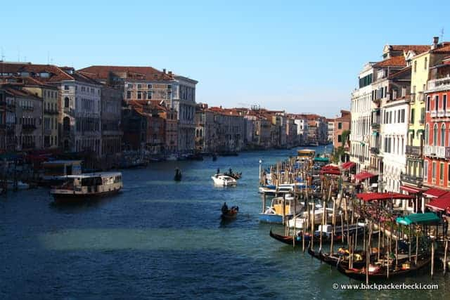 Grand Canal, Venice, Italy,