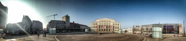 Augustusplatz, Ring Road, Leipzig Germany