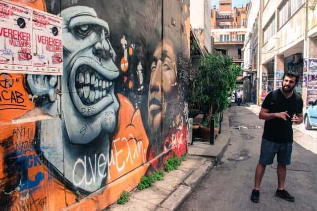Athens Street Art tour, Dopios