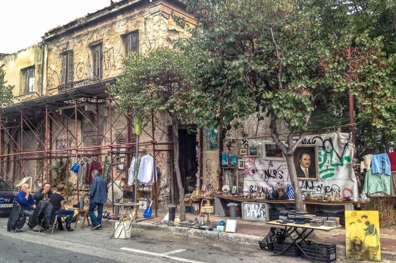 Thesseion Keramikos, Athens, Greece