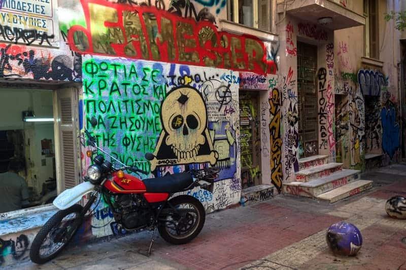Exarchia, Athens, Greece