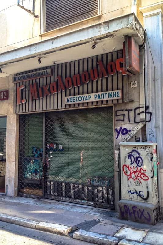 Psiri. Athens, Greece