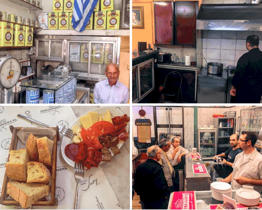 Culinary Backstreets food tour Athens, Greece