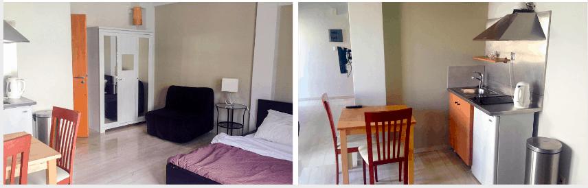 Athens Studio apartments, Greece