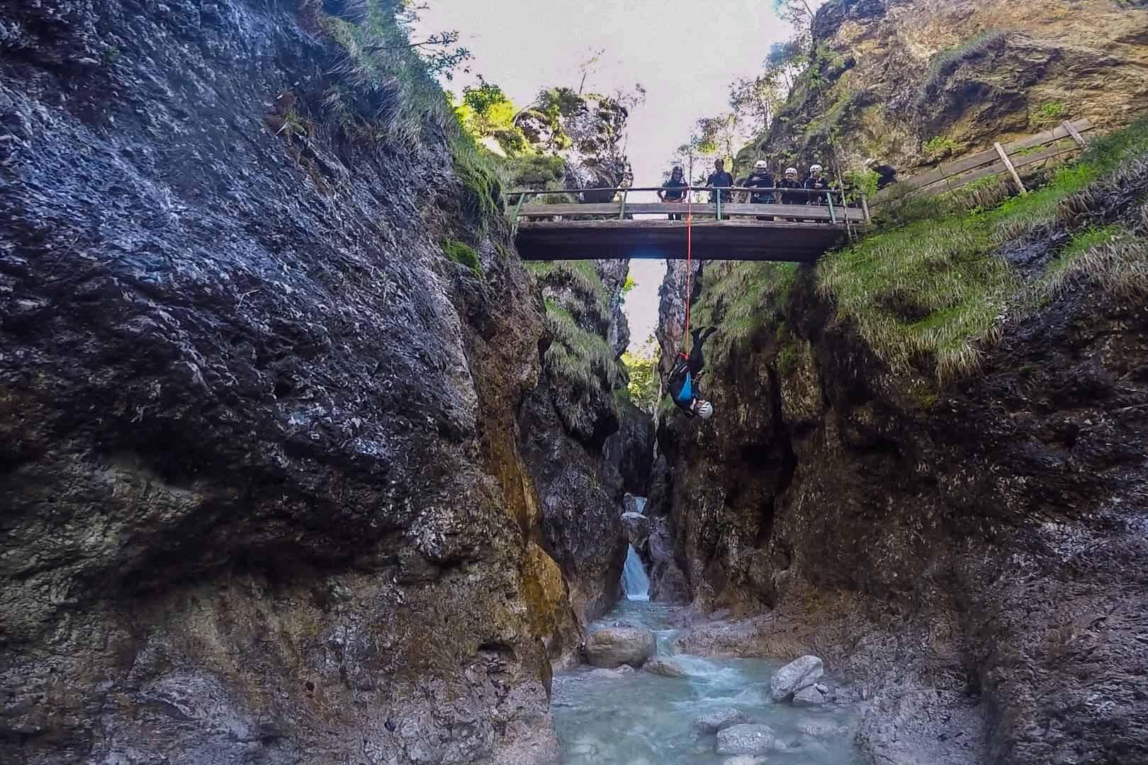 Canyoning, Tirol, Austria