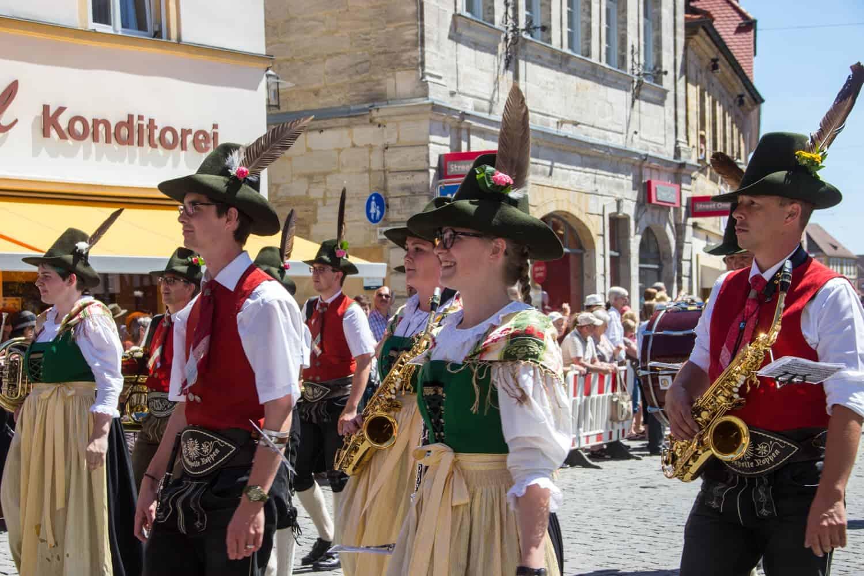 Annafest, Forchheim, Franconia, Germany