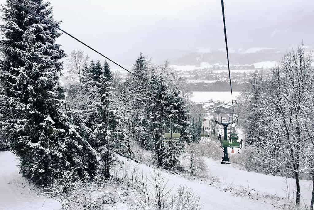Skiing in Tirol, Austria, Kitzbüheler Alpen