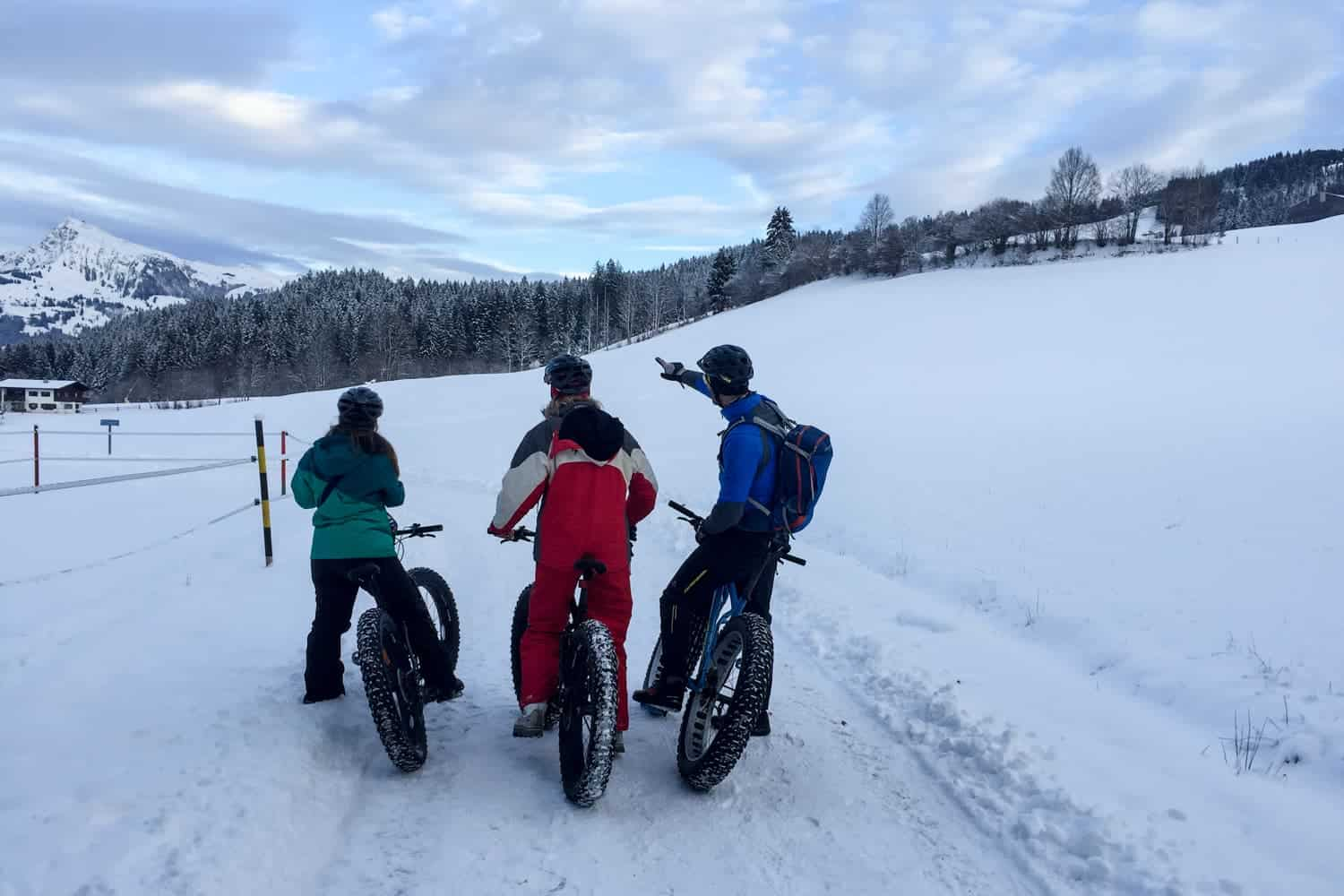 Fatbiking in Austria