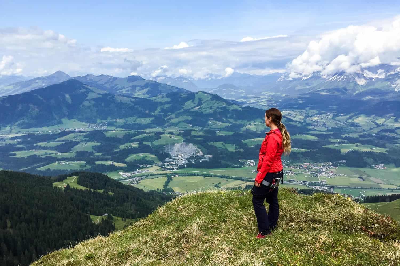 Climbing in St.Johann, Tirol, Austria