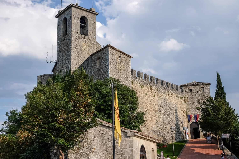 Tower of San Marino, Italy, Emilia Romagna