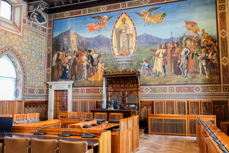 Public Palace, San Marino, Italy, Emilia Romagna