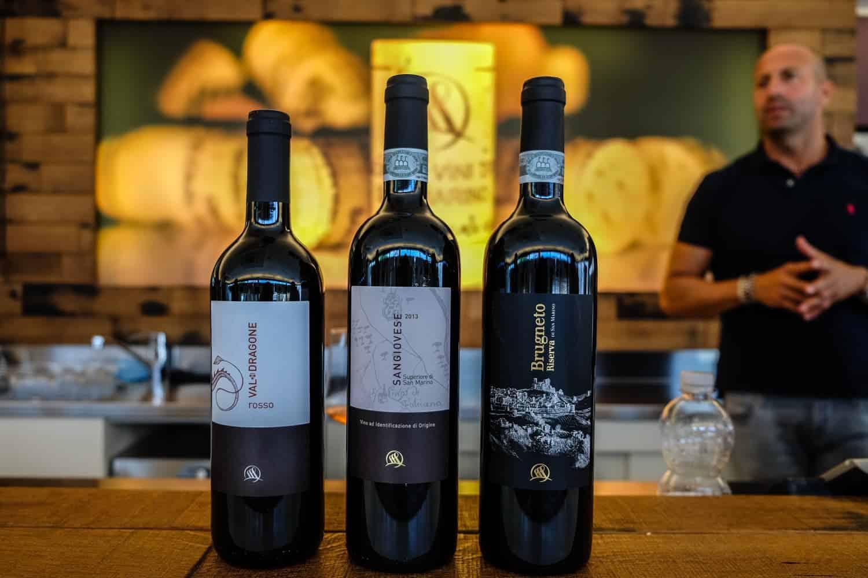 Wine tasting San Marino, Italy, Emilia Romagna
