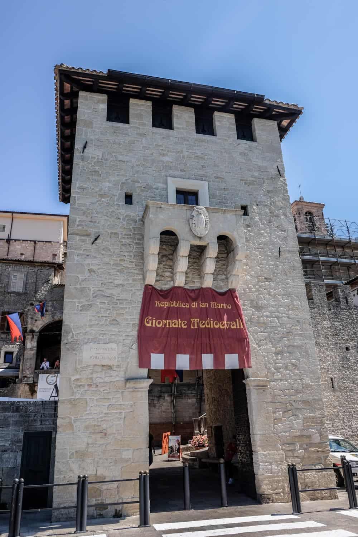 Saint francis Gate San Marino, Italy, Emilia Romagna