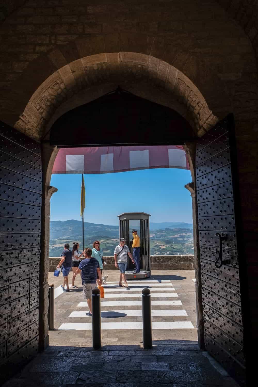 St Francis Gate San Marino, Italy, Emilia Romagna