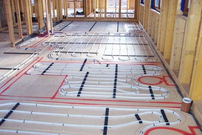 Borders Underfloor Heating Supply Underfloor Heating And Geothermal Heat Pump For New Build In The Scottish Borders