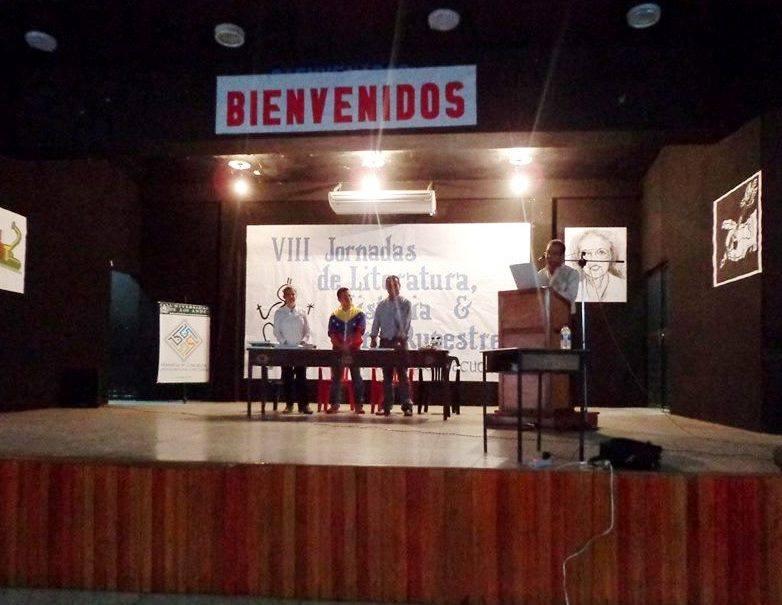 VIII Jornadas de Literatura, Historia y Arte Rupestre del municipio Ayacucho. Un espacio de encuentro