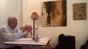 Ramon Gonzalez Escorihuela, historiador y profesor de la Universidad de Los Andes