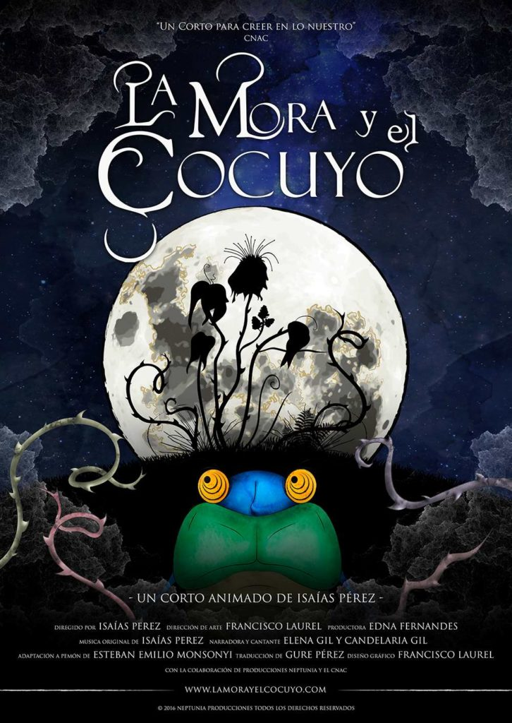 afiche La Mora y el cocuyo