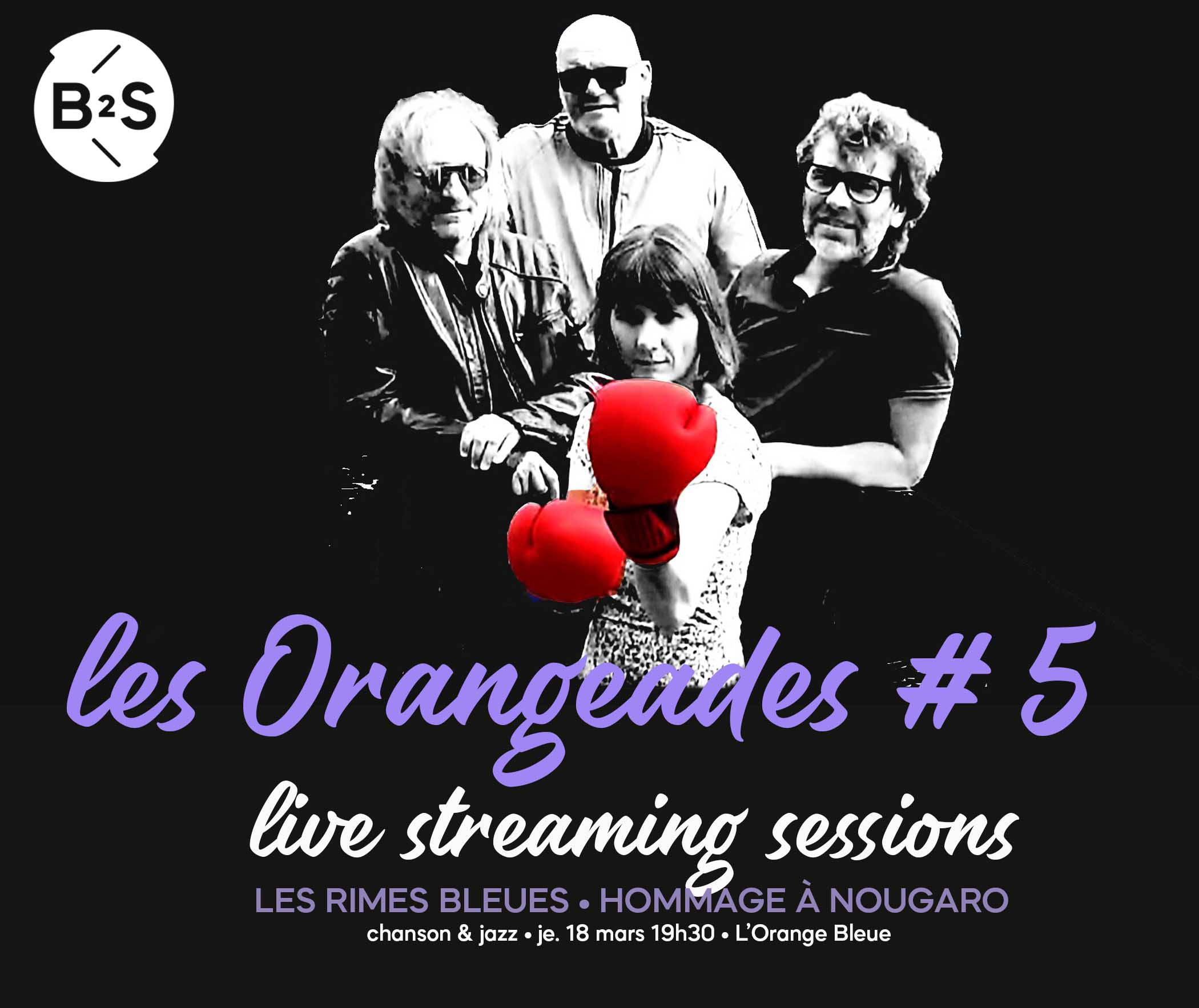 Orangeades 5 les rimes bleues