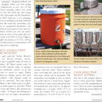 Cooler mash tun in Zymurgy magazine