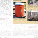 Cooler mash tun in Zymurgy magazine