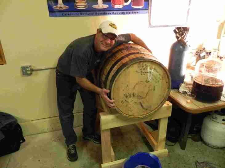 Barrel Hugging- the new sport