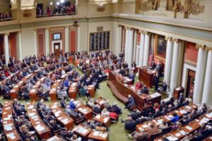 Legislators At  Work