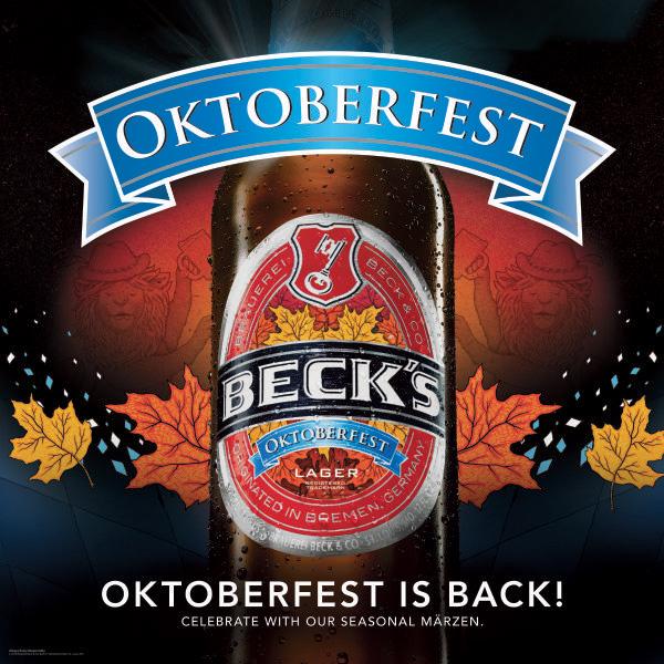 Oktoberfest Becks