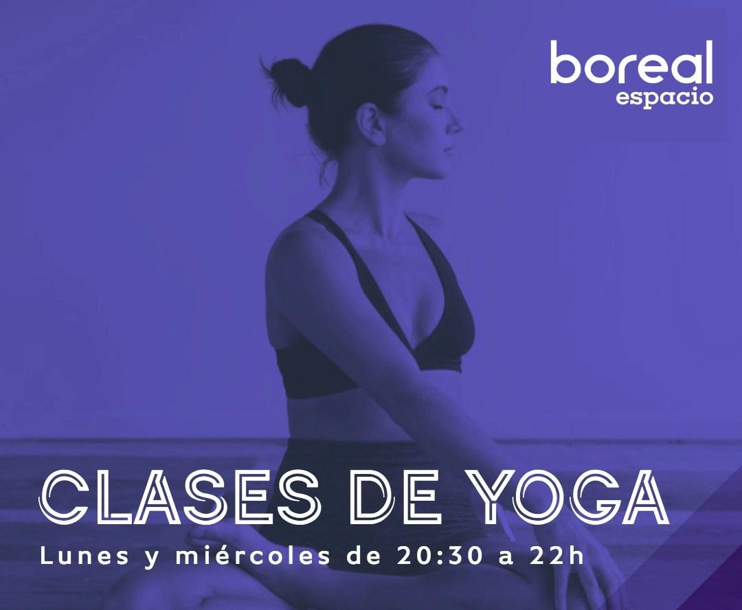 Yoga en Boreal Espacio