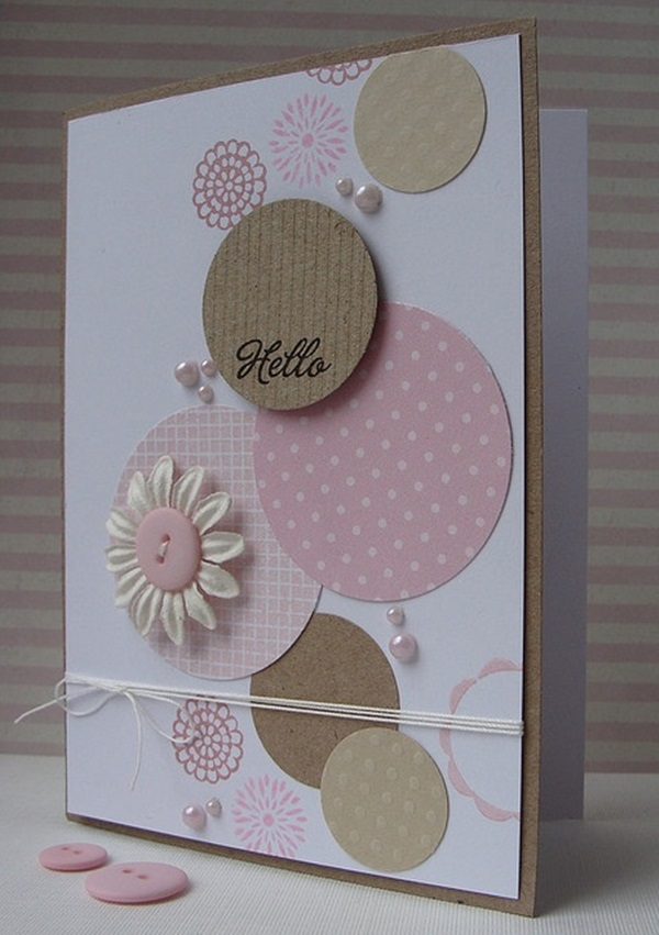 Check out these greeting ca. 40 Handmade Greeting Card Designs