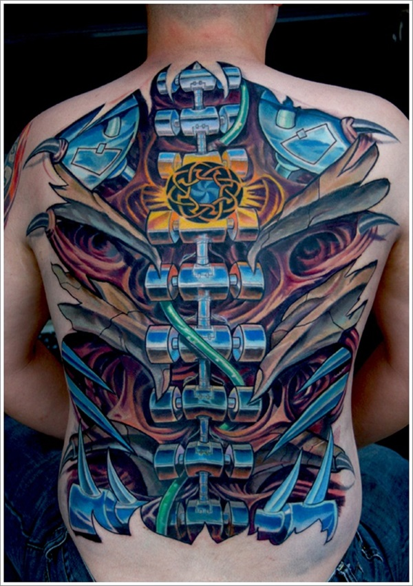 Car Mechanic Tattoo Designs