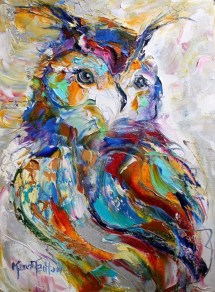 beautiful and soft impressionism