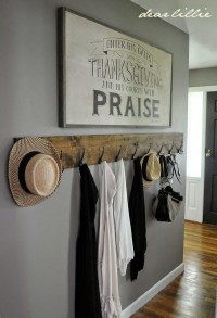 40 Cool And Creative DIY Coat Rack Ideas - Bored Art