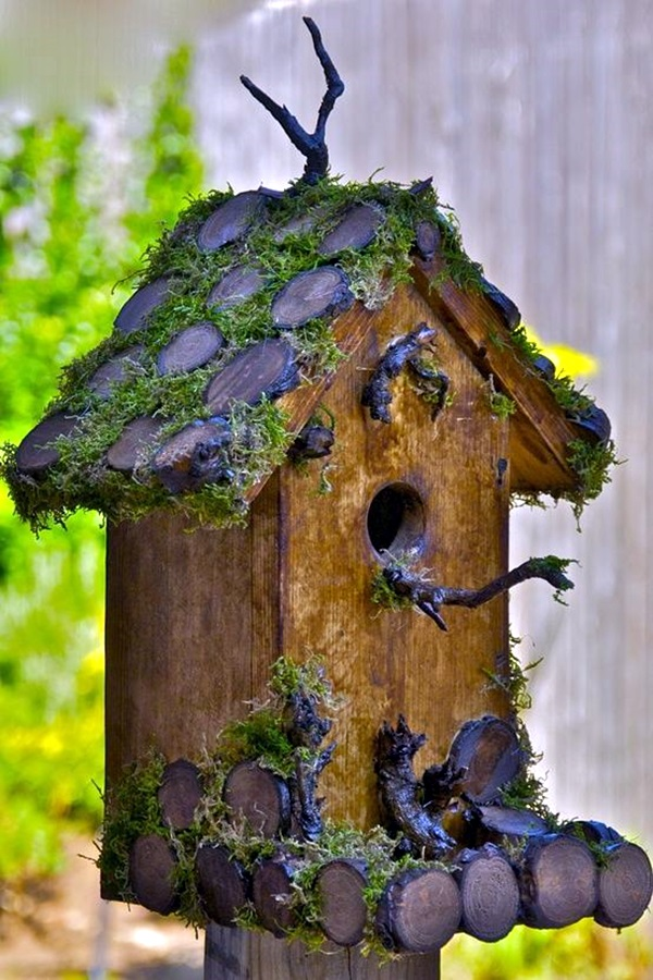 40 Beautiful Bird House Designs You Will Fall In Love With  Bored Art