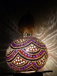 40 Amazing Art Inspired Gourd Lamps - photo fun 4 u