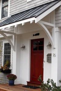 Door Overhangs & Exterior Door Overhang Front Door Roof ...