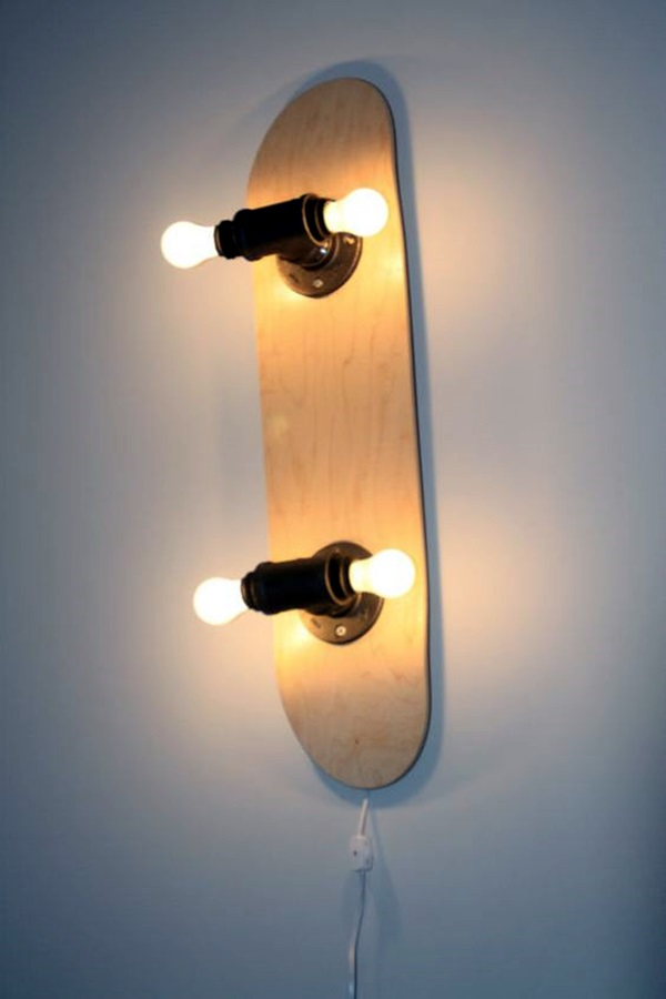Simple Electrical Wiring 40 Recycled Lamps That Are Border Line Genius
