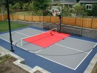 Backyard Basketball Court Ideas To Help Your Family Become ...