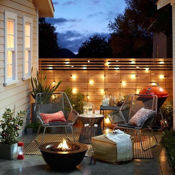 40 Terrace Light Decoration Ideas  Bored Art