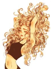 awesome hair drawings fashion